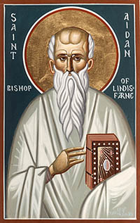 Photo of Saint Aidan
